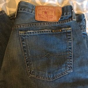 Vintage Lucky Brand Size 34 Bootcut Cut Jean